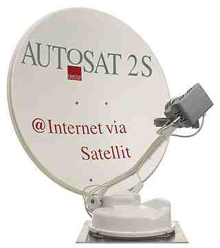 Crystop Fully Auto Search Internet Sat Dish